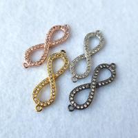 Zirkonia Stein Mikro pflastern Ring Kreis-Korn-Stecker für die DIY Armband-Halskette Schmucksachen, die CT561