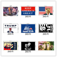 Trump Flag Make Amercia Great Again Flags Polyester Head Met...