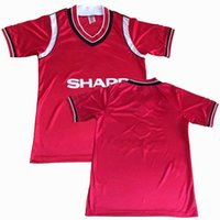 Retro classic 1984 1985 1986 soccer jerseys Manchester 84 86...