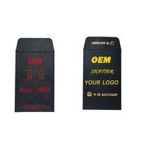 Logo personnalisé Concentré Enveloppes Shatter OEM ODM boîte d'emballage en papier carton enveloppes imprimées Mini feuille d'or comestible travail Art