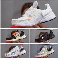 2019 Nike Air Max Presto Airmax White Prestos off V2 Hommes Chaussures Pas Cher Ultra BR TP QS Marron Noir Blanc Prestos V2 X Chaussures De Sport Air