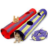 jouets pour animaux Puzzle pliant jouet pour chat canal Pet Tunnel Cat Tunnel de jeu pliable