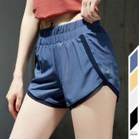 Yoga pantalones cortos del diseñador de 02 L-Funcionamiento para mujer cortocircuitos de las señoras de la yoga Casual Trajes adultos Sportswear niñas aptitud del ejercicio de desgaste