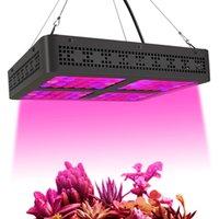 Al por mayor de chips de doble plaza 600W LED crece la luz para las plantas de interior hidropónico Agricultura Full Spectrum 380-800nm de valores de EE.UU.
