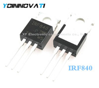 Freeshipping (100pcs / LOT) IRF840 IRF840PBF TO-220 Leistungs-MOSFET-Chip
