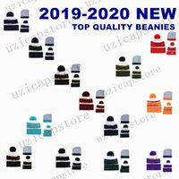 2020 Winter American Sports Winter Team Beanies Hats Pom Kni...