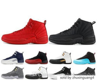 New 12 12s High Basketball Mens Gym Red Wool Michigan Nylon Taxi Gamma Blue Nyc Xii Uomo Designer Scarpe Sport Sneakers Us 7-13