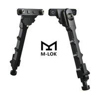 Tactical V9 M-LOK laterale montato Bipiede 7.5-9 pollici per Outdoor, Gamma, caccia e tiro