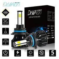 Super brilhante ! Par Pro 6500K 40W 12000 LM Car LED faróis farol de nevoeiro lâmpadas para H1 / H4 / H7 / H8 / H9 / H11 / HB3 / HB4 / 9005/9006