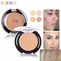 Color Cover Salon completa 4 colori Liquid Concealer trucco scuro occhiaie Crema Viso Correttore impermeabile Make Up Crema Base