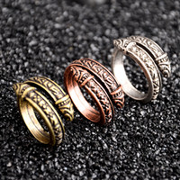 Vintage Open Rings Viking Men' s Jewelry Rings Tide Men&...