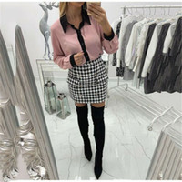 Office Lady Summer 2019 Women OL Blouse Tops Fashion Long Sl...