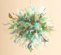 Inicio interior de alta calidad LIHGT Colgante de diseño especial Forma redonda Nueva barata Pequeña lámpara de cristal de vidrio soplado