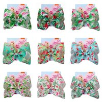 12color 8inch jojo siwa bows baby hair bows designer large G...