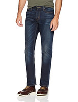Rugged Mile Denim Uomo Straight Fit Ringspun Denim Jean