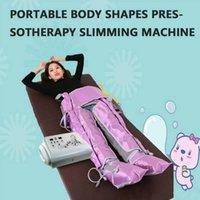 Lo nuevo 24 bolsas de aire presoterapia presión del masaje de drenaje linfático / Aire Detox / adelgazan el juego de aire sistema de terapia de onda para el hogar y salón de belleza