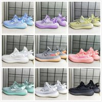 Static 2,0 Baby-Kind-Kind-Jugend-Creme Reflective Infant wahre Form Hyper Bred Beluga Lehm Hyperspace Kany West-Laufschuhe Sport-Turnschuh