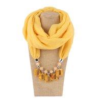 Neue Mehrschichtige Geometrische Quadratische Anhänger Aussage Halsketten für Frauen Mode Schal Halskette Kragen Schmuck Bijoux