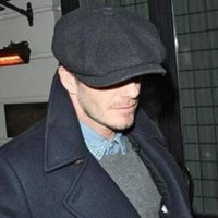 David Beckham Same Design Male Beret Fashion Gorras Planas S...