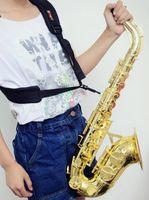 2019 Новый Саксофон ремень саксофоне ремни Сопрано саксофон плечевой ремень аксессуары с бесплатной доставкой Черный саксофон плечевой ремень