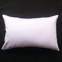 1шт 11x17in 200gsm толстая чистой белого хлопка саржа пиломатериал наволочка для DIY краски / печатей чистого хлопка белой наволочки для DIY экрана