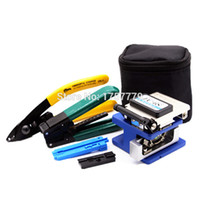 6 In 1 FTTH Fiber Optic Tool Kit with FC- 6S Fiber Cleaver an...