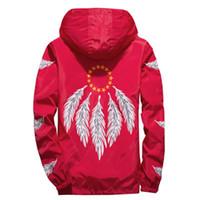 США Япония Yizlo перо крыло куртка Ветровка Мужчины Женщина Unisex Jaqueta Masculina Весна Осень колледж Куртка