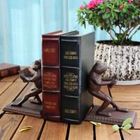2 piezas de hierro fundido Frog Sujetalibros Termina libro de metal antiguo Sujetalibros Sala de estudio Escritorio Decoración de la mesa Oficina en casa Artesanías rústicas Artesanías marrones