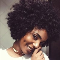 Afro Curly Hair Wig Synthetic Hair Heat Resistant 200 Degree...