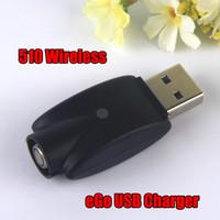 Drahtloses USB-Ladegerät elektronische Zigarette eGo 510 USB-Ladegerät ohne Kabel für 510 Gewinde CE3 elektronische Zigarette Akku-Kit