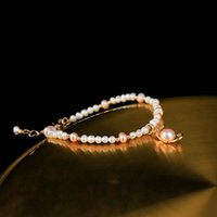 2020 New Wholesale Freshwater pearl Bracelets for women Char...