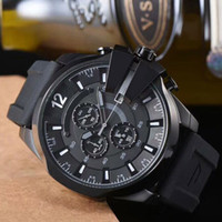 New DZ Mens Watches Multiple Time Zone Oversize Male Watches...