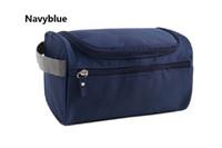 Bolsa de almacenamiento de viaje colgante al aire libre Hombres y mujeres de alta capacidad Oxford bolsa de lavado de camuflaje bolsa de cosméticos logotipo personalizado FB008