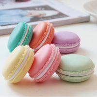 Симпатичные конфеты цвета Macaron ящик для хранения ювелирных изделий Упаковка Дисплей Pill Case Organizer Домашнее украшение подарков