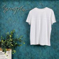 2020SS Spring e Verão Novo Algodão de Alta Grade de Algodão de Manga Curta Redonda Pank Painel T-shirt Tamanho: M-L-XL-XXL-XXXL Cor: Preto Branco VD43