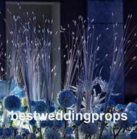 نمط جديدالزهور الاصطناعي الأوروبي طويل صف زهور الزفاف قوس الطريق الرصاص جميع أنواع مختلفة الديكور للمنزل فندق حزب ديكور best0571