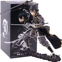 Tigre oscuro SAO Espada Arte Online Código de Registro Goukai Negro Kirigaya Kazuto KIRITO figura de acción de PVC modelo de juguete de colección T191109