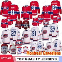 31 Carey Precio 27 Alex Galchenyuk Montreal Canadiens jerseys del hockey de 6 Shea Weber Max 67 Pacioretty 92 Jonathan Drouin 11 Brendan Gallagher