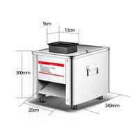 110V / 220V Comercial máquina de cortar carne fresca máquina del cortador de acero inoxidable carne en dados Cubo de corte Phousehold carne máquina de cortar machinerice
