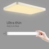 48W 초박형 LED 천장 램프 침실 거실 램프 직사각형 LED 천장 램프 현대 북유럽 레스토랑 통로 발코니 램프