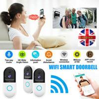 Smart Wireless WiFi Türklingel Video Camera Phone Bell-Intercom Home Security