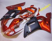 R6 98 99 00 01 02 R6YZF Cerfering Fit pour Yamaha YZF600 1998-2002 YZF-R6 Moto-R6 Orange Black Bodywork Caidings (moulage par injection)