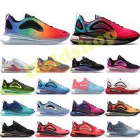 Gerçek Koşu Ayakkabıları Erkekler Kadınlar Için Gelecek Üçlü Siyah Volt Pembe deniz Deniz Orman Günbatımı Gündoğumu Mens Trainer Moda Spor Sneakers 36-45