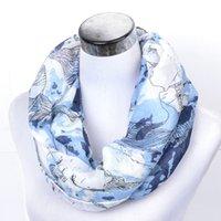 2019 جديد مصمم إنفينيتي الأوشحة هدايا خفيفة الوزن للنساء أزياء العلامة التجارية الأبيض الأزرق 11 أنماط شالات المعتاد وشاح 180x90CM