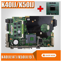 with 2Gb RAM + cpu Mainboard For ASUS K40IJ K50IJ K60IJ X5DIJ...