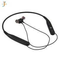 50 unids / lote inalámbrico bluetooth auriculares estéreo deportes auriculares auriculares in-ear auriculares inalámbricos con micrófono para iPhone 7 Samsung más barato