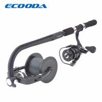 ECOODA Linha de Pesca Spooler Enrolador Carretel Portátil Spool Estação de Spooling Sistema de Fiação ou Baitcasting Linha De Carretel De Pesca