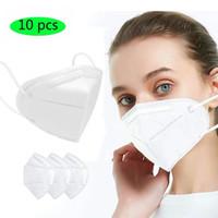 Готов к отправке! Складная маска для лица с Квалифицированные сертификации Anti-пыли Face Mask Оптовая Быстрая доставка по DHL