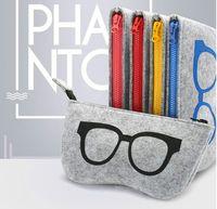 Nowa Grade Felk Cloth Pudełka Okulary przeciwsłoneczne Wysokiej Jakości Luksusowe Okulary Tkaniny Case Eyeglasses Akcesoria Okulary Sunglasses Torba