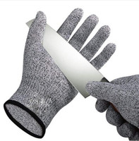 1 Pair Anti-cut Gloves Cut Proof Stab Resistant Stainless Steel Wire Metal Kitchen Butcher Cut-Resistant Safety Garden Gloves